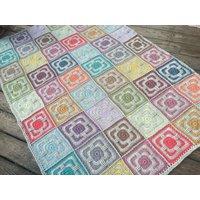 Faded Love - Blanket - Scheepjes Stonewashed XL - Kit