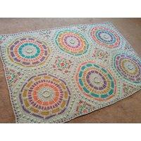 Summer Mosaic Mystery Afghan - Scheepjes Stone Washed XL - Medium Kit
