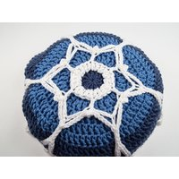 Ice Crystal Cushion Crochet Kit and Pattern