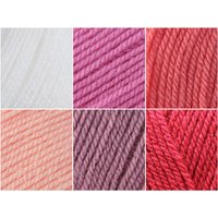 Stylecraft Special DK Baby Girl Blanket Colour Pack