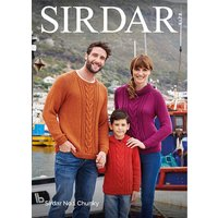 Family Sweaters in Sirdar No.1 Chunky (8178S)