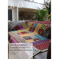 Rowan Felted Tweed Blanket - By Lisa Richardson - Yarn Pack