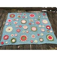 Garden State - Blanket - Scheepjes Stone Washed XL - Yarn Pack