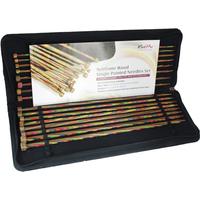 Knit Pro Symfonie Wood Single Point Knitting Needle Set - 35cm (Set of 8 Pairs)