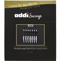 Addi Swing Crochet Hook Set with Hooks 0.5-1.75mm