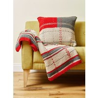 Deramores Studio Chunky Tartan Throw Colour Pack