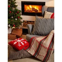 Deramores Studio Chunky Snowflake Cushion Colour Pack