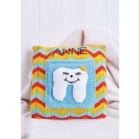 Let´s Knit Tooth Fairy Cushion Colour Pack in Deramores Studio DK Knitting Kit