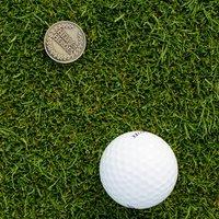 Golf Embossed Ball Marker - Default Title / Gold