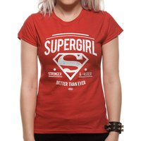 SUPERGIRL - BETTER THAN EVER Womens Fitted T-Shirt