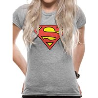 Superman (Logo) Fitted T-Shirt
