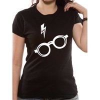 Harry Potter | Glasses Fitted T-Shirt