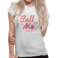 Blondie - Call Me Ladies Fitted T-shirt