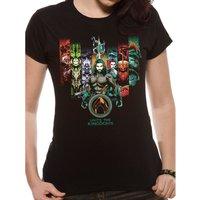 Aquaman | Unite The Kingdoms Fitted T-Shirt