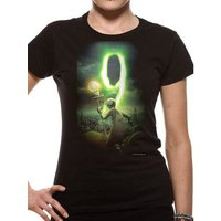 9 (Poster) Fitted T-shirt
