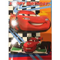'Disney Cars Birthday Card