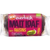 Everfresh Organic Malted Raisin Loaf - 290g