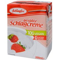 Schlagfix Vegan Sweetened Whipping Cream 200ml
