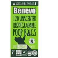 Benevo 120 Biodegradable Poo Bags - 125g
