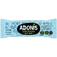 Adonis Natural Low Sugar Vanilla Nut Bar 35g
