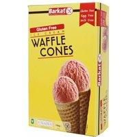 Barkat Gluten Free Waffle Ice Cream Cones 150g