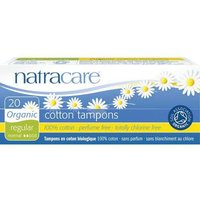 NatraCare Organic Non-Applicator Tampons Regular X 20