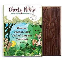 Cheeky Nilla Banana, Peanuts and Salted Caramel Chocolate 90g