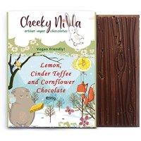 Cheeky Nilla Lemon, Cinder Toffee and Cornflower Chocolate 90g