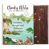 Cheeky Nilla Coconut, Mango and Hibiscus Chocolate 90g