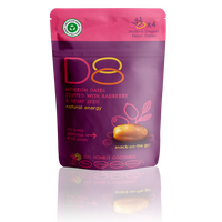 D8 Snacks with Barberry and Hemp Seed 45g
