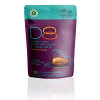 D8 Snacks with Pecan and Crushed Apple 45g