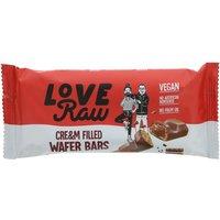 Loveraw Cream Filled Choc Wafer Bar 43g