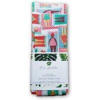 Vegan Reusable Food Wraps - Ladies Relax Print