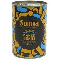 Suma Organic Low Sugar Baked Beans - 400g