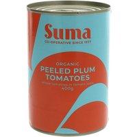 Suma Organic Tomatoes Peeled - 400g