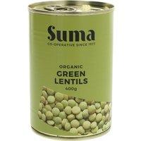 Suma Organic Green Lentils 400g