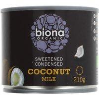 Biona Organic Condensed Coconut Milk 210ml