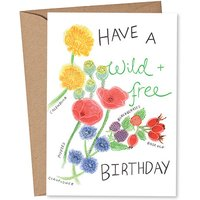 Rose & Daff - Have A Wild + Free Birthday
