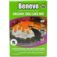 Benevo Organic Dog Cake Mix - 140g