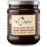 Mr Organic Dark Chocolate & Hazelnut Spread - 200g
