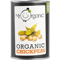 Mr Organic Chick Peas - 400g
