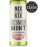 Nix and Kix Cucumber & Mint Soft Drink 250ml