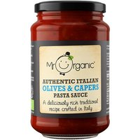 Mr Organic Authentic Italian Capers&Olives Pasta Sauce - 350g