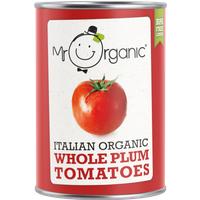Mr Organic Whole Plum Tomatoes - 400g