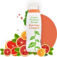 Plantsy Protein Drink - Blood Orange & Grapefruit 330ml