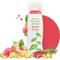 Plantsy Protein Drink - Rhubarb & Ginger 330ml