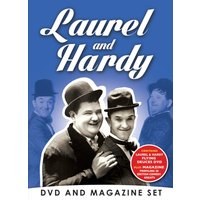 Laurel & Hardy DVD & Bookazine Gift Set
