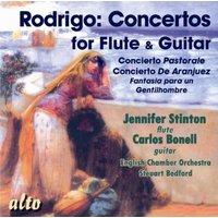 Rodrigo Concertos For Guitar and Flute - Carlos Bonell and Jennifer Stinton, ECO, Steuart Bedford (CD)