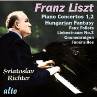 Liszt Piano Concertos and Hungarian Fantasy (CD)