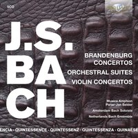 J.S. Bach: Brandenburg and Violin Concertos, Orchestral Suites (CD)